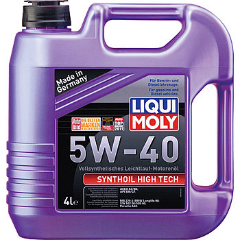 LIQUI MOLY  Synthoil High Tech  SM/CF  5/40  (синт ПАО) 4л  (1/4)