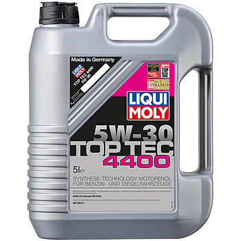 LIQUI MOLY  Top Tec 4400 ( для Renault) SAE 5W-30  (синт.) 5л  (1/4)