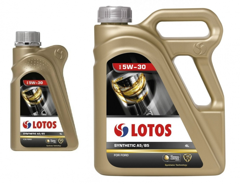 LOTOS SYNTHETIC  5W30  (A5/B5) для FORD синт. 1л