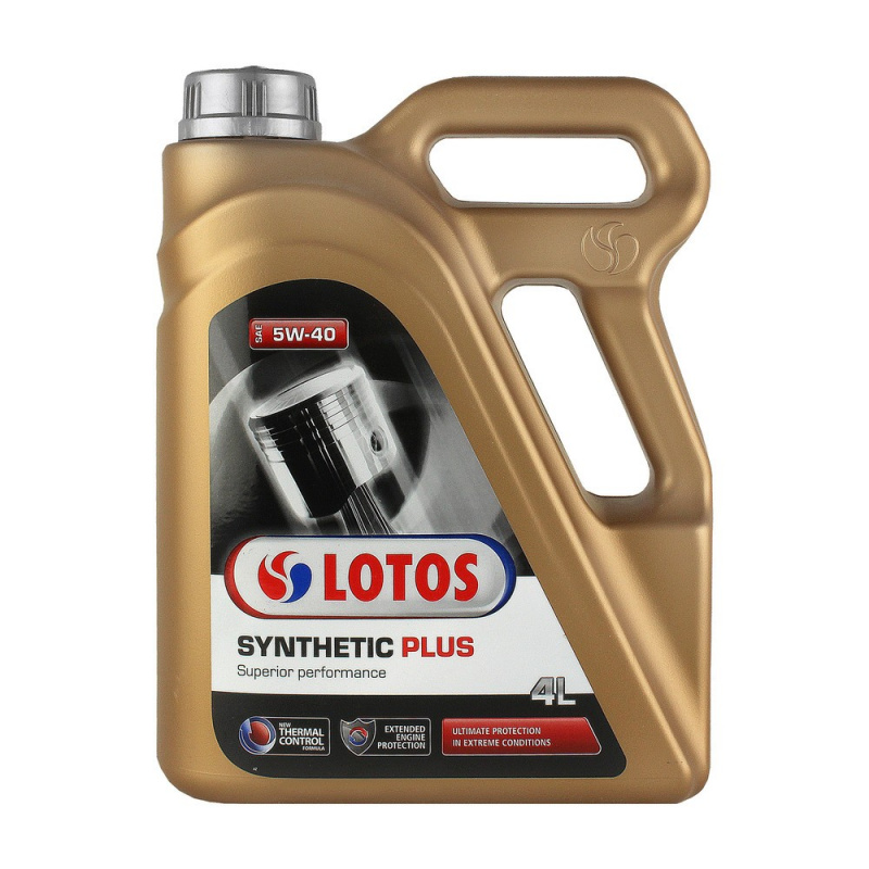 LOTOS SYNTHETIC PLUS 5W40 (SN/CF, A3/B4) синт. 4л