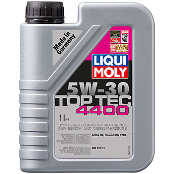 LIQUI MOLY  Top Tec 4400 ( для Renault) SAE 5W-30  (синт.) 1л  (1/6)